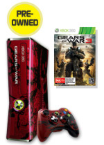 Xbox 360 320GB Limited Edition Gears of War 3 Console Bundle (preowned)