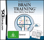 Brain Training: Train Your Brain in Minutes A Day (preowned)