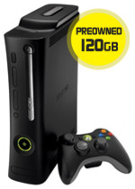Xbox 360 Elite Console - 120GB (preowned)