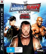WWE Smackdown vs Raw 2008 (preowned)