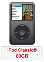 iPod Classic® 80GB (Refurbished by EB Games) (preowned)