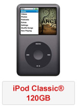 iPod Classic® 120GB (Refurbished by EB Games) (preowned)