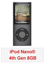 iPod® Nano 4th Gen 8GB (Refurbished by EB Games) (preowned)