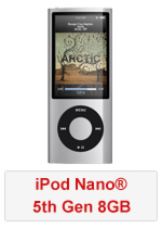 iPod Nano® 5th Gen 8GB (Refurbished by EB Games) (preowned)