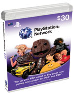 PlayStation Network Card - $30