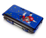 3DS Dual Injected Crystal Armor Case - Mario