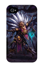 iPhone 4 Case: Diablo III - Witch Doctor