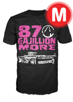 Borderlands 2 - 87 Gajillion More Guns T-Shirt - Medium
