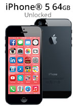 iPhone® 5 64GB - Black (Refurbished by EB Games)