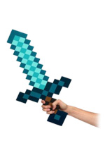 Minecraft Diamond Sword - Foam Replica