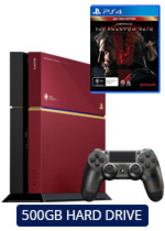 500GB PlayStation 4 Metal Gear Solid V: The Phantom Pain Limited Edition Console