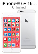 iPhone® 6 Plus 16GB - Silver (Refurbished by EB Games)