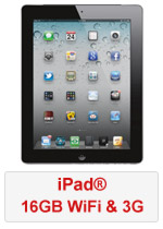 iPad® 16GB WiFi and 3G (Refurbished by EB Games) (preowned)