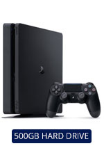 New-Look 500GB PlayStation 4 Jet Black Console
