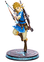 "The Legend of Zelda - Breath of the Wild - Link 10"" PVC Statue"