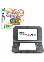 New Nintendo 3DS XL (Black) + Pokemon White Version 2