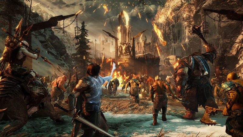 Xbox One Gold Middle-Earth: Shadow o...